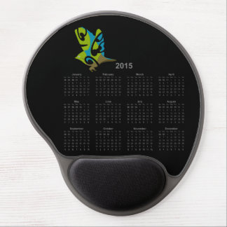 Waxeye Tauhou 2015 calendar mousepad Gel Mousepads