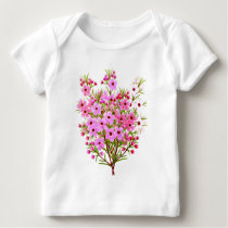 Waxflower Bouquet Infant Long Sleeve Baby T-Shirt