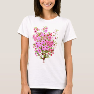 Waxflower Bouquet Ladies Babydoll Top