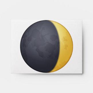 Waxing crescent moon - Emoji Envelope