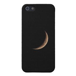 Waxing Crescent Moon iPhone case