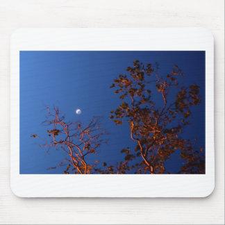 WAXING CRESEBT MOON & GUM TREE AUSTRALIA MOUSE PAD