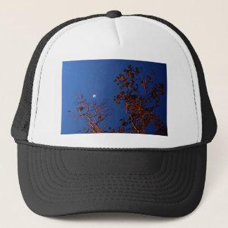 WAXING CRESEBT MOON & GUM TREE AUSTRALIA TRUCKER HAT