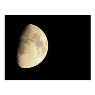 Waxing Gibbous Moon #3 Postcard