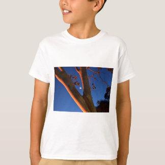 WAXING MOON AND GUM TREE QUEENSLAND AUSTRALIA T-Shirt