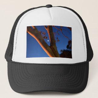WAXING MOON AND GUM TREE QUEENSLAND AUSTRALIA TRUCKER HAT
