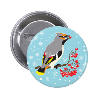 waxwing button