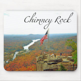 Way Above Chimney Rock Mouse Pads