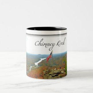 Way Above Chimney Rock Two-Tone Coffee Mug