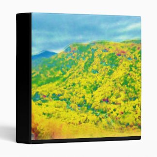 Way Above the Mountains Air Brushed Binder