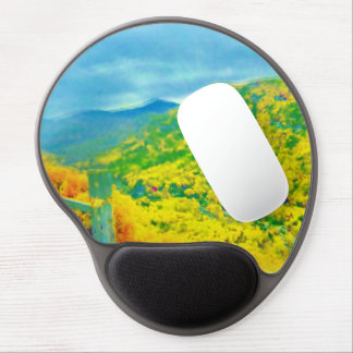 Way Above the Mountains Air Brushed Gel Mouse Pad