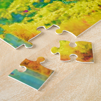 Way Above The Mountains Air Brushed Jigsaw Puzzle