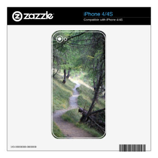 Way in the Alps Decal For iPhone 4S