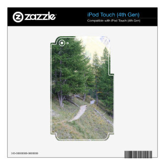Way in the Alps Skin For iPod Touch 4G