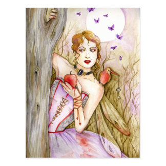 Way in the dark -Dark Fairies series Postcard