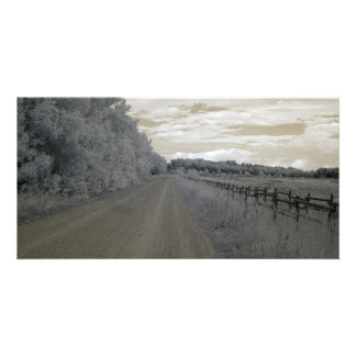 Way/infrared photography card