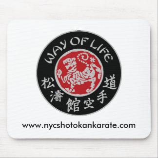 Way Of Life Shotokan Dark Logo Mousepad