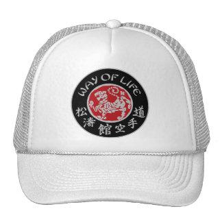 Way Of Life Shotokan Dark Logo Trucker Cap Trucker Hat