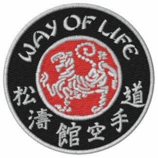 Way of Life Shotokan Ladies Dark Logo Emb. T-Shirt