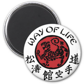 Way Of Life Shotokan Magnet