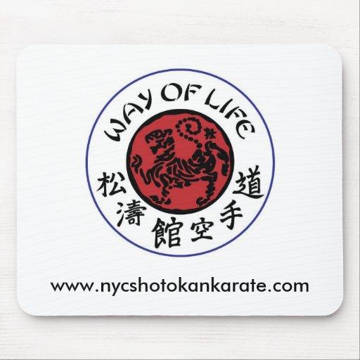 Way Of Life Shotokan Mousepad