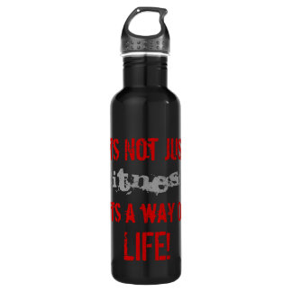Way Of Life Stainless Steel Water Bottle