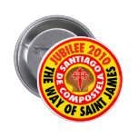 Way of Saint James the Greater Button