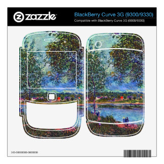Way of the Old Ferry by Alfred Sisley BlackBerry Curve Skin