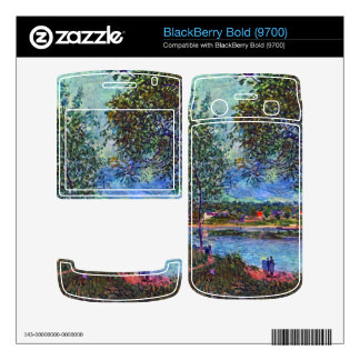 Way of the Old Ferry by Alfred Sisley BlackBerry Bold 9700 Skin