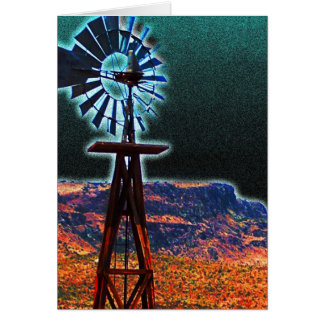 Way Out West Card