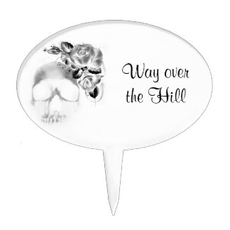 Way over the Hill Cake Topper