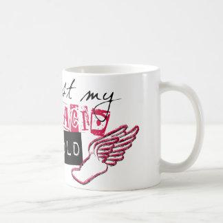 Way past my lactic acid threshold coffee mug