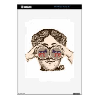 Way She Sees It - Democrat iPad 2 Decal