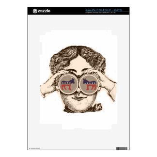 Way She Sees It - Democrat iPad 3 Skins