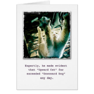 Way to Go! (blank) Greeting Card