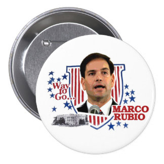 Way to go...Marco Rubio Pinback Button