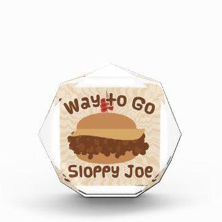 Way To Go Sloppy Joe Acrylic Award