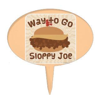 Way To Go Sloppy Joe Cake Topper