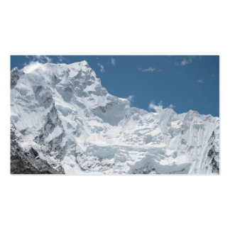 Way to Mount Everest Double-Sided Standard Business Cards (Pack Of 100)