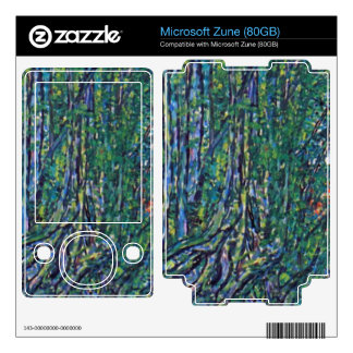 Way to the Park by Gustav Klimt Decal For Zune