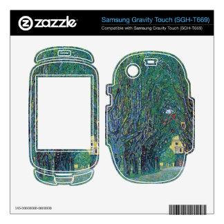 Way to the Park by Gustav Klimt Samsung Gravity Touch Skins