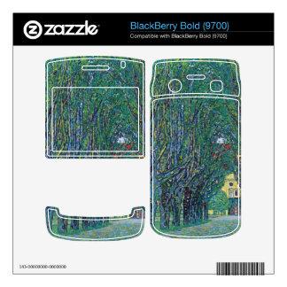 Way to the Park by Gustav Klimt BlackBerry Bold Decals