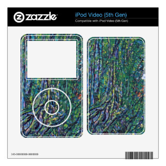 Way to the Park by Gustav Klimt Skin For iPod Video 5G