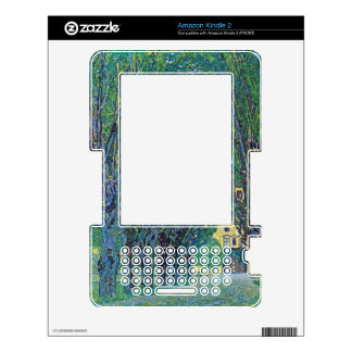 Way to the Park by Gustav Klimt Skin For The Kindle 2