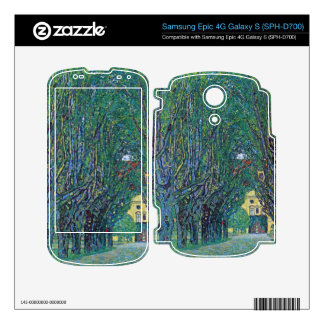 Way to the Park by Gustav Klimt Skin For The Samsung Epic
