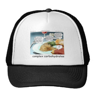 Way Too Complex Carbohydrates Funny Gifts & Tees Trucker Hat