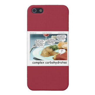 Way Too Complex Philosophical Carbohydrates iPhone SE/5/5s Case