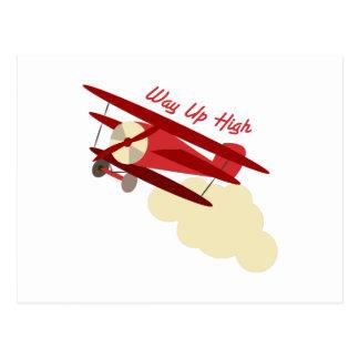 Way Up High Post Card