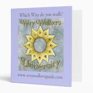 Way Walkers: University Binder