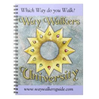 Way Walkers: University notebook